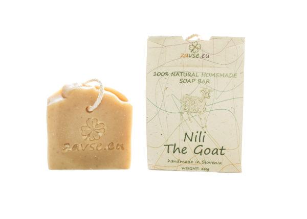 Trdo milo Koza Nili - naše milo z kozjim mlekom